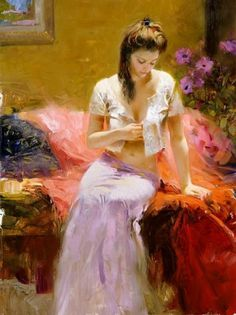 Pino Daeni Paintings Collection