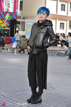 121102-9222: Japanese street fashion in Shibuya, Tokyo.