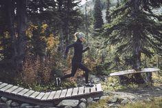 trail running
