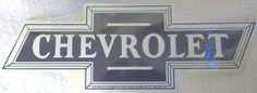 Chevrolet Embossed Metal Chevrolet Bow Tie Sign Chevy Emblem Shape ebay Item number: 261239296149