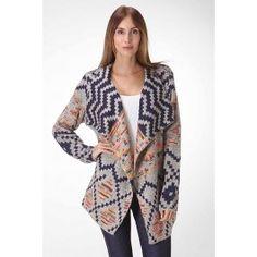 Open Bohemian Printed Cardigan - Holiday Sweater Sale! -http://www.salediem.com/sales/holiday-sweater-sale/open-bohemian-printed-cardigan.html