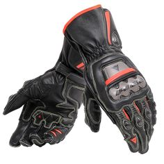 Dainese Full Metal 6 Glove - Black / Black / Red Fluo from the UK's leading online bike store. Free UK delivery over and easy returns on our range of over products.