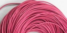5 Meters 2mm Dark Pink Round Geniune Leather Cord Jewelry Good for DIY Ideas >>> Learn more by visiting the image link.