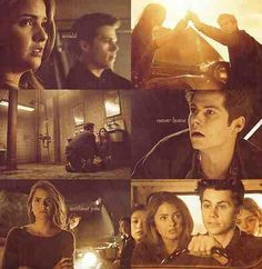 Stiles and Malia (Teen Wolf )