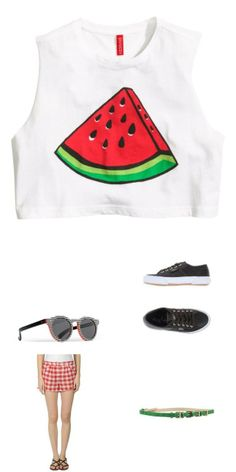 #watermelon #cropped #top you say? Here is the #outfit we loved the most. Create your own at #jaqard, free on app store at http://bit.ly/jaqard