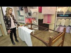 How to attach a Dorm Decor Bed Skirt Panel - YouTube