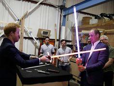 El imperio contraataca: Príncipes de Inglaterra en 'Star Wars'