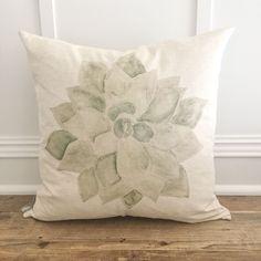 Succulent Pillow Cover