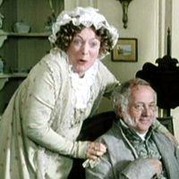 mr. collins pride and prejudice   Pride and Prejudice 1995 Mr. and Mrs. Bennet