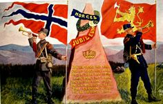 Patriotisk Norges 10O-års Jubileum 1914. Utg C. A. Erichsen