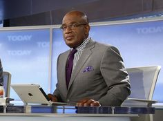 FILE - This April 18, 2013 file photo released by NBC shows co-hosts Al Roker on the set of NBC News... - The Associated Press
