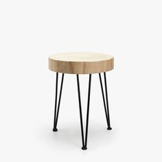 ROUND STOOL WITH CON