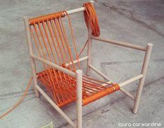 Loom lounge chair    Image courtesy of Laura Carwardine