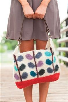 Crochet felted wonder! Winterbloom Bag - Media - Crochet Me