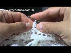 Blusa Renda em Crochê com Cláudia Maria - Vitrine do Artesanato na Tv - YouTube