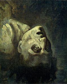 Head of a Drowned Man, Théodore Géricault, 1819.