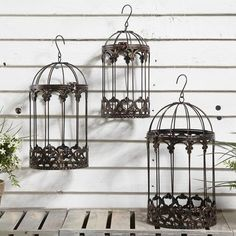 Birdcage Hanging Basket from Dunelm Mill