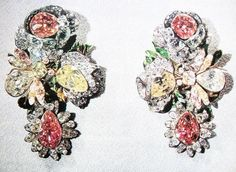 THE ROMANOVS JEWELS~ the earrings of Elizabeth I, set up with the ring and necklace. The image of necklace and earrings are in the previous pin of this board