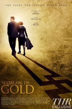 Plakát k filmu DÁMA VE ZLATÉM... 'Woman in Gold' Poster: Helen Mirren Looks for Lost Art (Exclusive Image) - The Hollywood Reporter
