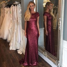 Hot Long Bridesmaid Dresses,Sequin Bridesmaid Dresses, Short Sleeve Bridesmaid Dresses, Mermaid Bridesmaid Dresses, Shinning Bridesmaid dresses, 15163 sold by Athenabridal. Shop more products from Athenabridal on Storenvy, the home of independent small businesses all over the world.