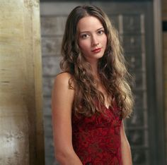"Amy Acker as  Winifred ""Fred"" Burkle in ""Angel"""