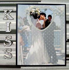 DIY Classic Wedding Album Part 2 » Simply Kelly Designs #scrapbookideas