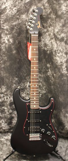 2017 Fender FSR Special Edition Stratocaster HSS Noir Electric Guitar #customguitars