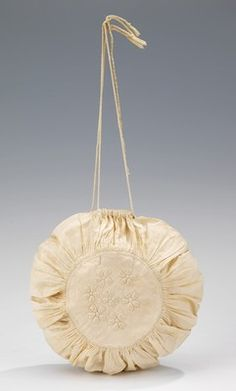 Object Name Bag (Reticule) Date first quarter 19th century