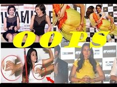 Bollywood Actresses 2016 Wardrobe Malfunctions! oops Moments