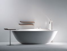 Scoop bathtub by Michael Schmidt for Falper.