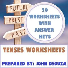 TENSES+WORKSHEETS+WITH+ANSWERS+from+JOHN421969+on+TeachersNotebook.com+-++(13+pages)++-+This+resource+includes+20+worksheets+with+answer+keys+on+3+tense+types+-+the+Present,+the+Past,+and+the+Future.