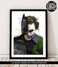 Batman v Superman Movie Canvas Posters Prints 8x11 20x27 inch