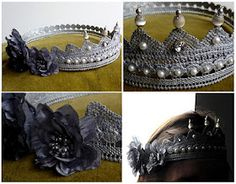 decorated Lace crown