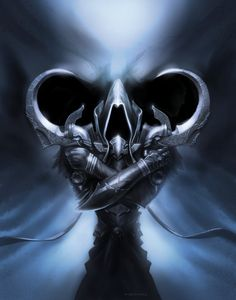 "Diablo III: Reaper of Souls ""Angel of Death"" Malthael print 11"" x 14"""