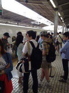 名古屋駅   新幹線待ち