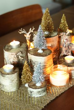 Birch Centerpiece - HouseBeautiful.com