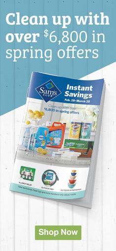 Instant Savings Are Here Take Advantage Of Great Offers For All Your Spring Cleaning Projects Plus Get New Exclu Spring Cleaning Projects Savings Saving Sam