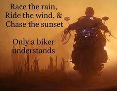 A Biker's quote...