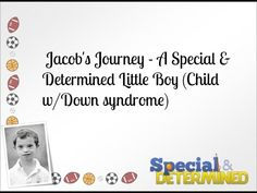 Jacob's Journey - Special & Determined YouTube Channel Trailer | Special & Determined | A Special Needs Mom Blog #specialanddetermined