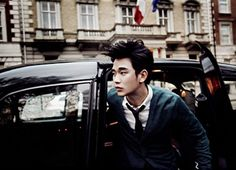 Kim Soo Hyun – Harper's Bazaar Magazine May Issue '12