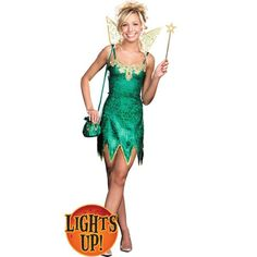 Pretty Pixie Costume - This Magical pixie always has fun she she sprinkles everyone! The Pretty Pixie Costume - Teen Costume includes a Metallic microfiber iridescent dress Teen Girl Costumes, Costumes For Teens, Children Costumes, Fairy Halloween Costumes, Halloween Outfits, Halloween Ideas, Pixie Costume, Beautiful Costumes, Fashion Brands