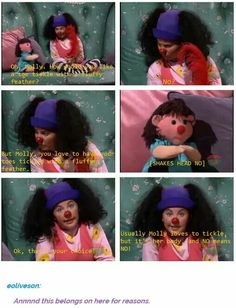 """Start teaching them young. Very young. consent is everything. Extra points for it being the """"big comfy couch""""."""
