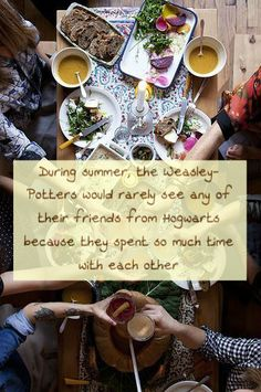 During summer, the Weasley-Potters would rarely see any of their friends from Hogwarts because they spent so much time with each other