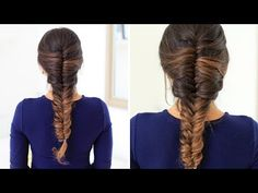 Do you want to learn how to French Fishtail Braid your own hair? Well then...today is your lucky day. In this detailed video tutorial, I'll show you exactly how to do it.