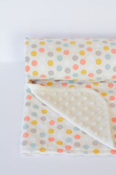The Best Baby Blanket in Sweet Dot by greenergrass on Etsy Best Baby Blankets, Baby Room, Dots, Good Things, Sweet, Bedding, Beds, Babies Nursery, Baby Rooms