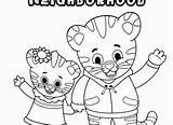 Daniel Tiger Coloring Pages O