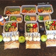 Perfect meal prep
