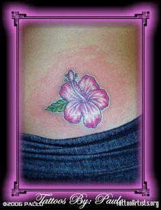 hibiscus tattoo - Google Search