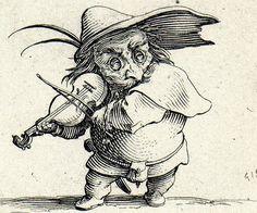 Jacques Callot,El violinista