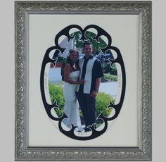 A special frame for a special wedding. | The Great Frame Up | Naples, FL | www.naples.thegreatframeup.com/ |